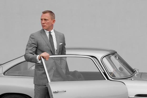 Daniel Craig James Bond Aston Martin