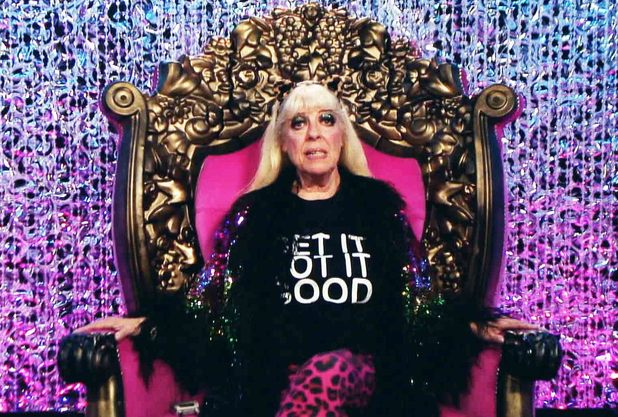 Julie in the Diary Room