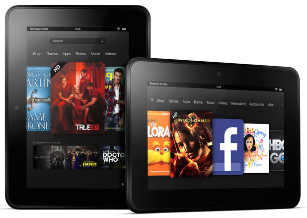 The New Kindle Fire HD 7 tablet