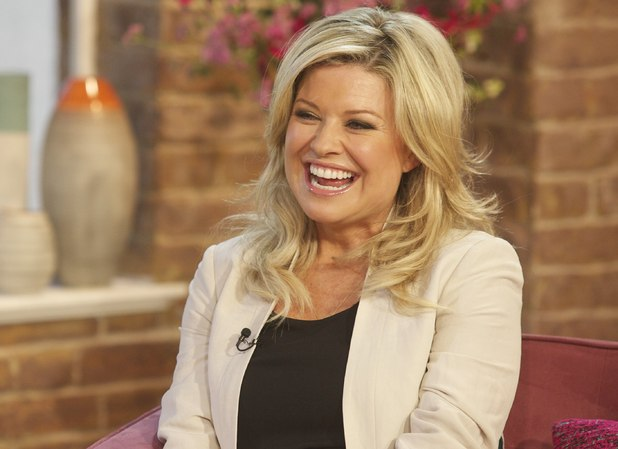 Emily Symons appears on 'This Morning'
