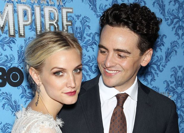 Ashlee Simpson, Vincent Piazza,Boardwalk Empire