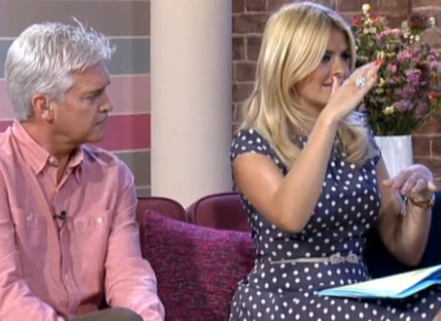Holly Willoughby on This Morning 6.09.12