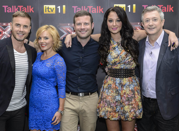 The X Factor with Geri Halliwell 08.09.12