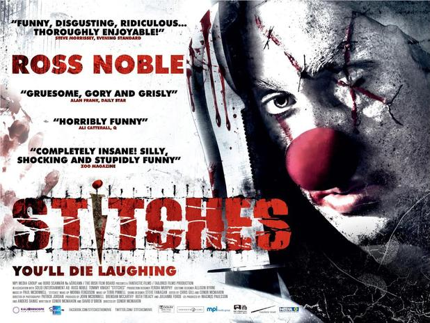 Ross Noble 'Stitches' movie poster