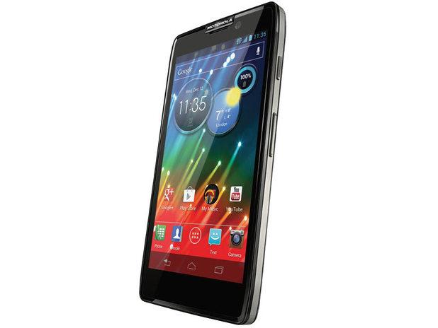 Motorola Razr HD spartphone