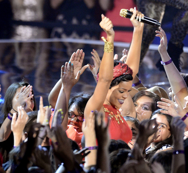 Rihanna at the MTV Video Music Awards