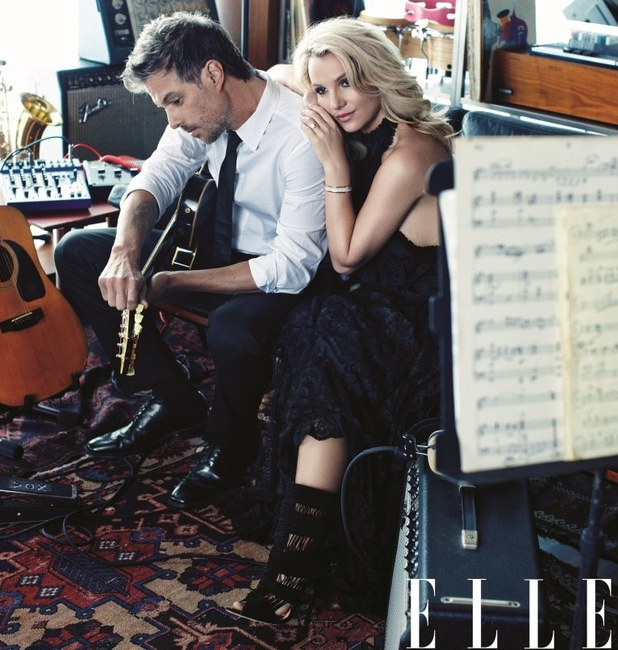 Britney Spears US ELLE October 2012