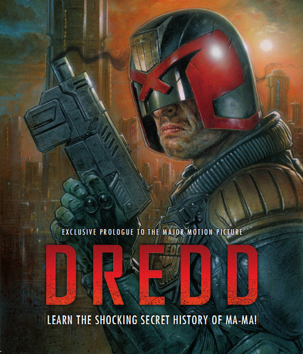 'Dredd' digital comic prequel