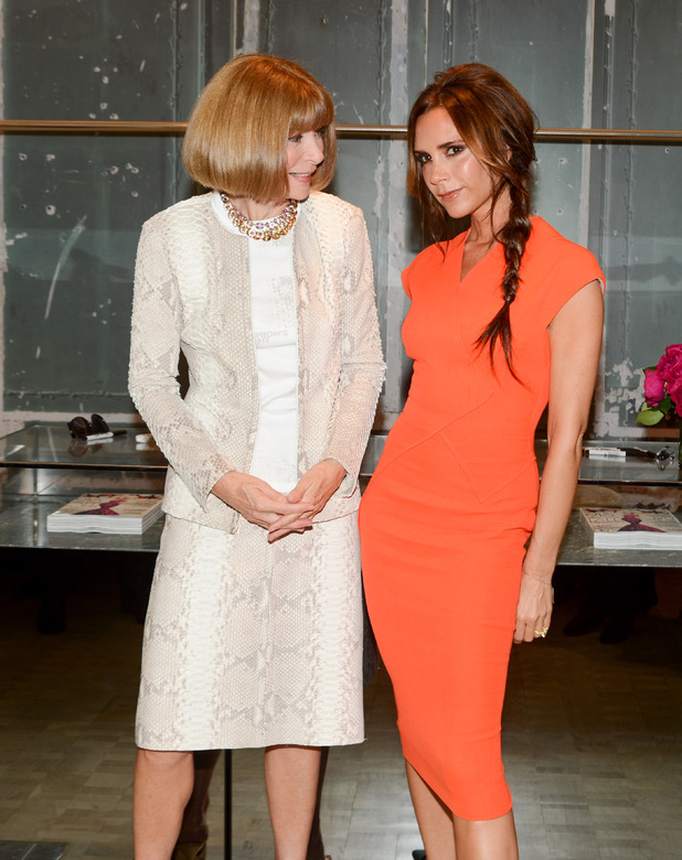 Anna Wintour, Victoria Beckham, Fashion's Night Out' at Bergdorf Goodman in New York
