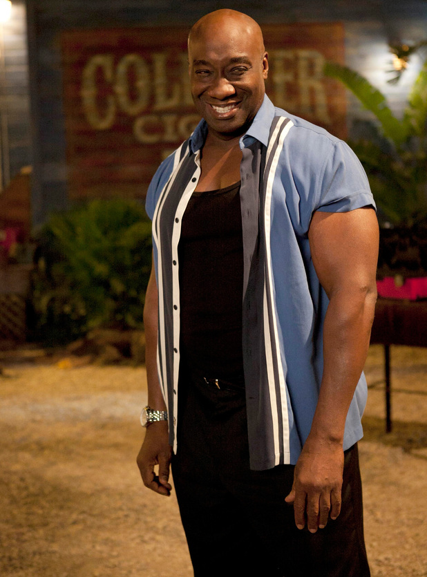 Michael Clarke Duncan stars in the TV series 'The Finder' in 2012, a spin-off from the TV series 'Bones'