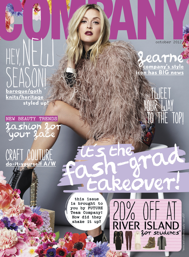 Fearne Cotton in Company magazine