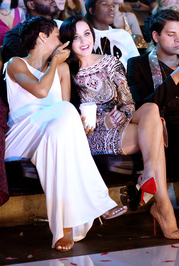 Rihanna and Katy Perry 2012 MTV Video Music Awards Show, Los Angeles, America - 06 Sep 2012