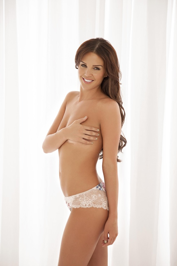 Danielle Lloyd appears in 'Closer' magazine