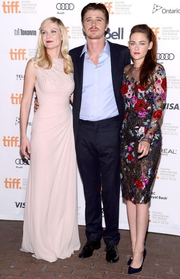Kirsten Dunst, Garett Hedland and Kristen Stewart