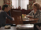 Rita confronts Tina over her plans, offering to give her the money if that is what she needs.