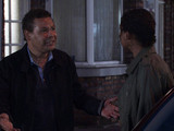 When out with Eileen and Paul, Lloyd spots Jenna about to leave. He begs her to talk to him somewhere in private