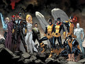 The Stuart Immonen-drawn illustration offers a glimpse at the post-AvX team.