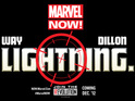 """Marvel Comics releases a """"lightning"""" teaser for a mysterious title."""