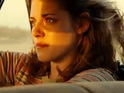 Kristen Stewart says that On the Road's nude scenes make sense in the movie.