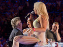X Factor judges are shocked by Lorna Bliss's raunchy audition.
