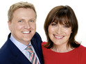 Aled Jones and Lorraine Kelly's launch show gets a negative response online.