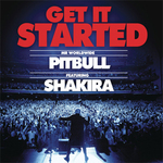 Pitbull, Shakira: 'Get It Started' artwork