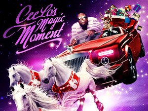 Cee Lo Green 'Magic Moment' artwork