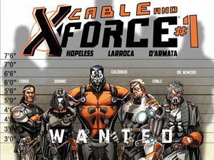 Cable and X-Force Marvel NOW