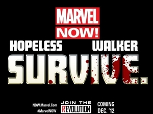 Marvel NOW! Survive teaser