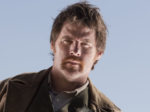 Doctor Who S07E03 - 'A Town Called Mercy': Isaac (Ben Browder)