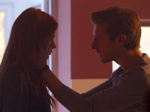 Doctor Who S07E04 - 'The Power of Three': Amy Pond (KAREN GILLAN), Rory Williams (ARTHUR DARVILL)