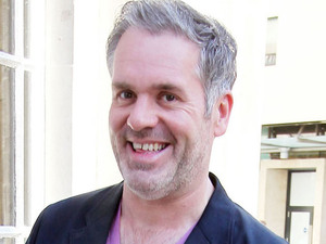 Chris Moyles outside the BBC Broadcasting House & Radio Theatre for the Chris Moyles Breakfast Show