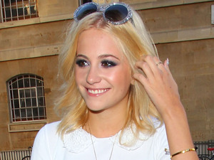Pixie Lott outside the BBC Broadcasting House & Radio Theatre for the Chris Moyles Breakfast Show