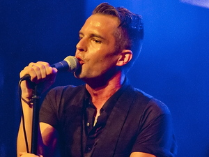 The Killers performing live at the Forum in London