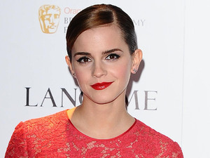 Emma Watson, Lancome pre-BAFTA cocktail party 