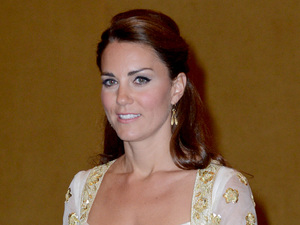 Duchess of Cambridge, official dinner with the King of Malaysia, King Abdul Halim Mu'adzam Shah, known as Yang di-Pertuan Agongand and Queen Haminah Hamidun.
