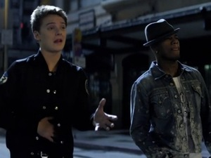 Conor Maynard, Ne-Yo 'Turn Around' video still