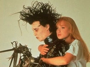 Edward Scissorhands, Winona Ryder, Johnny Depp