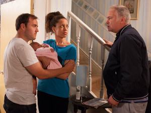 After Tyrone invites Alison to stay with them, they receive an angry visit from Ed, Kirsty's dad
