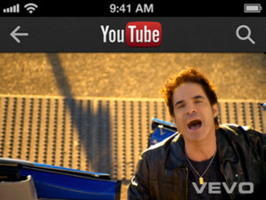 YouTube launches new iPhone app - screenshot