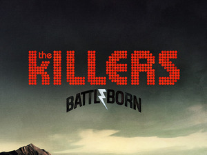 The Killers 'Battle Born' album artwork.