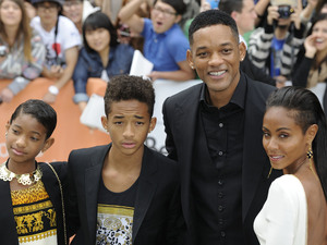 Willow Smith, Jaden Smith, Will Smith and Jada Pinkett Smith