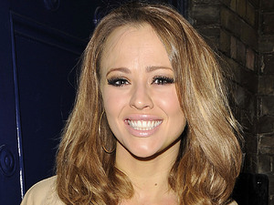 Kimberley Walsh leaving the Theatre Royal, after her performance in 'Shrek: The Musical' London, England - 12.05.12 Mandatory Credit: Stuart Castle / WENN.com