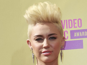 Miley Cyrus 2012 MTV Video Music Awards, held at the Staples Center - Arrivals Los Angeles, California - 06.09.12 Mandatory Credit: FayesVision/WENN.com