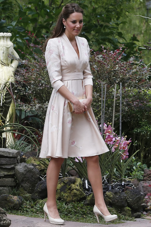 Duchess of Cambridge, Prince William, Far East and South Pacific, orchid-naming ceremony