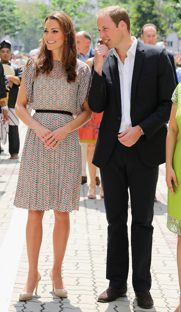 Duchess of Cambridge, Prince William, Singapore