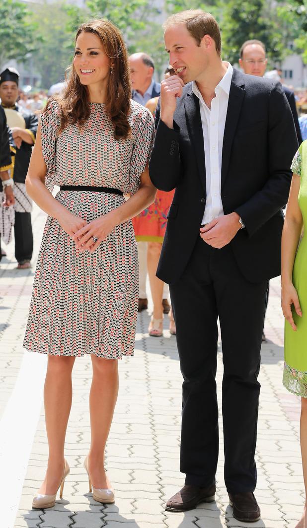 Duchess of Cambridge, Prince William, Singapore