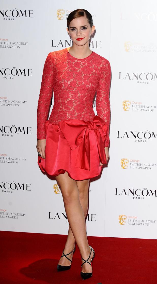 Emma Watson, Lancome pre-BAFTA cocktail party