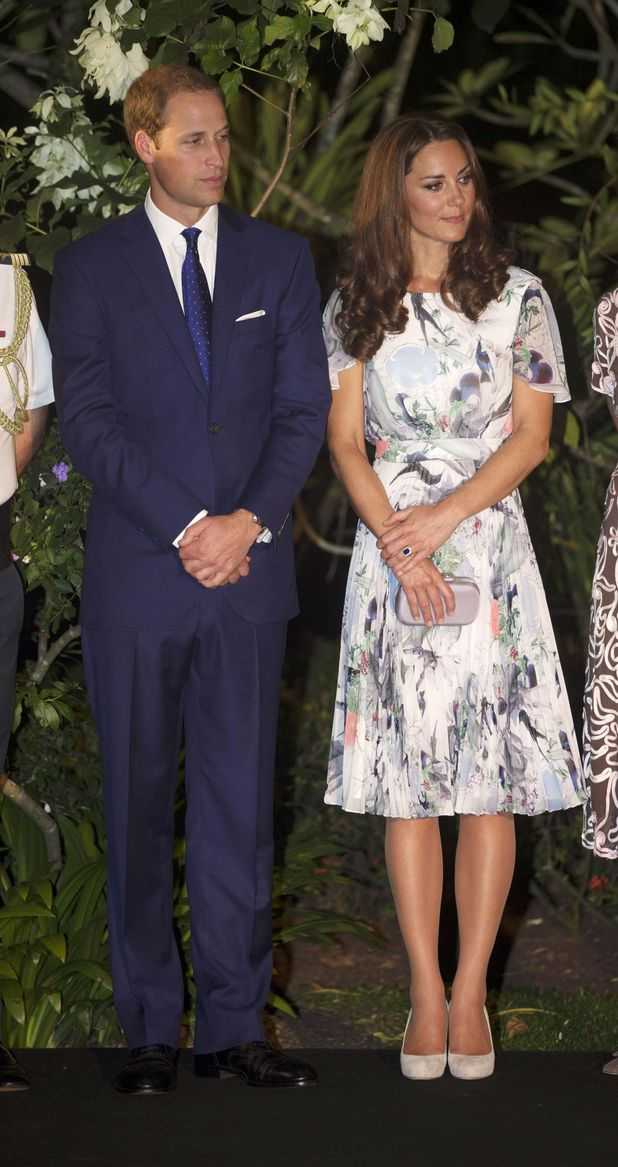 Prince William, Duchess of Cambridge, Singapore