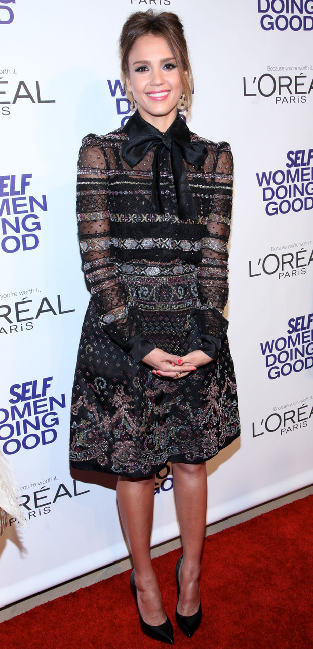 Jessica Alba, SELF Magazine 5th Annual Women Doing Good Awards